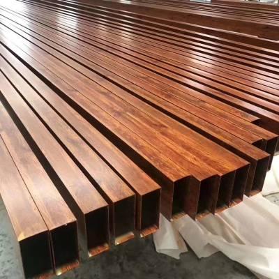 木纹铝方通铝方管定做厂家 欧百得