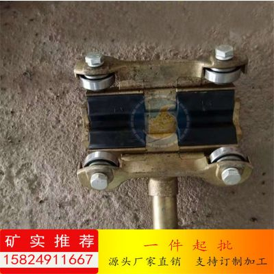 井下猴车抱索器衬垫 猴车胶圈 H型抱索器衬块 优质橡胶材质 矿实批发
