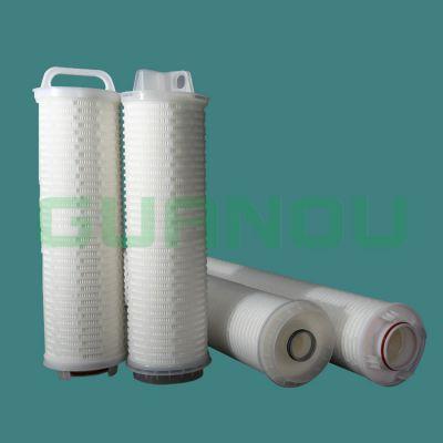 冠欧GHFB系列大流量滤芯直径为170mm,单支滤芯过滤面积超过12 m2,具有更大的过滤面积和