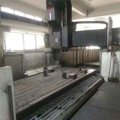 沈阳中捷二手3.5X8米数控龙门镗铣床铝材铝板钢板CNC龙门加工中心