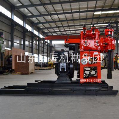 华夏巨匠HZ-130YY全液压勘探钻机百米钻探机械速度快取样完整