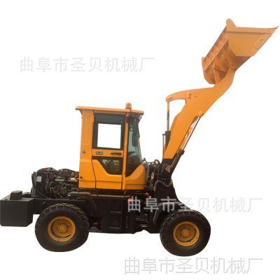 多功能型装抓木机出机票费小型装载机 厂区垃圾装载小铲车