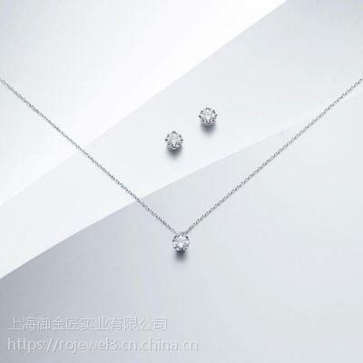 钻石项链断了好修吗