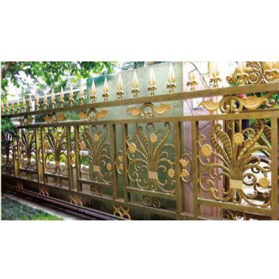 优质铝合金护栏生产 豪华别墅铝合金护栏 hh 铝合金护栏报价
