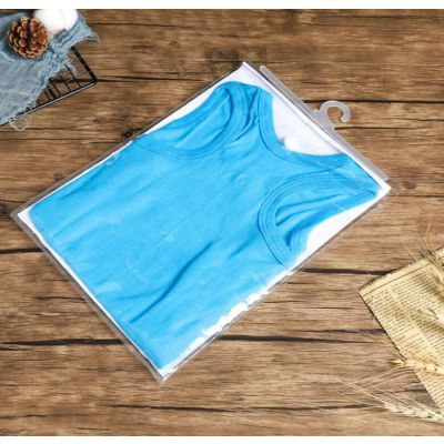 厂家定制加厚透明pvc挂钩袋内衣服装袋塑料包装袋可加印logo