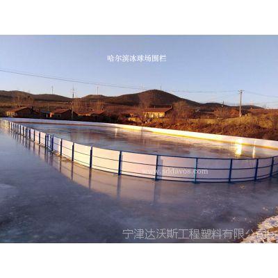 冰球围栏 轮滑场聚乙烯hdpe挡板围栏生产厂家