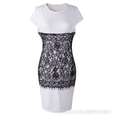 ebay速卖通爆款欧美外贸连衣裙2015春夏女装新款裙子