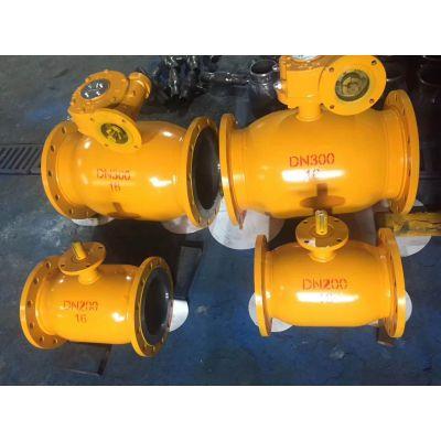 蜗轮全焊接球阀DN250 DN300正轩供应