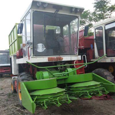 大型玉米秸秆青储收割机 圆盘式加厚料仓青储机价格