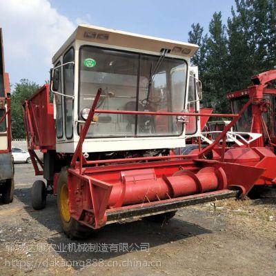 大型玉米秸秆青储机 带料箱秸秆粉碎回收机
