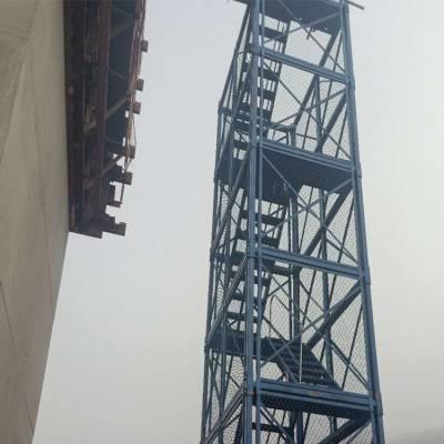 通达安全爬梯 桥梁安全爬梯报价 施工安全爬梯生产厂家