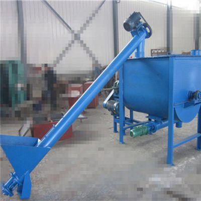 无缝管螺旋提升机价格 大豆玉米螺旋上料机