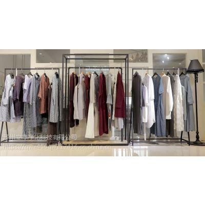 玛丝菲尔品牌服装批发价格 沈阳品牌折扣女装批发市场尾货紫色职业女装
