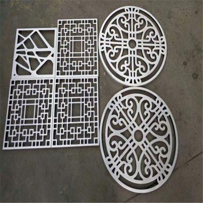 酒店大堂装饰使用雕刻铝单板,艺术图案镂空铝板价格。