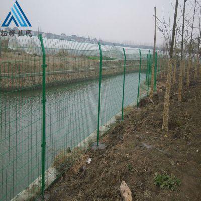 水库临边铁栅栏,水渠隔离网