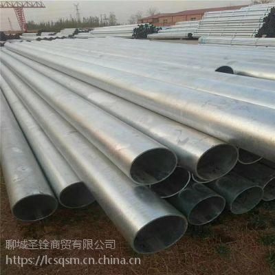 厂家直销 Q195镀锌管 低压流体管 焊管