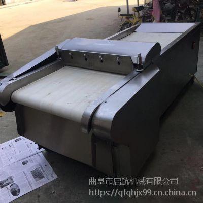 启航大葱切段机 多功能切菜机 安徽甘草切片机型号