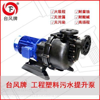 卧式自吸排污泵 台风防腐蚀自吸泵 厂家发货效率高