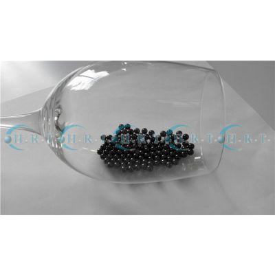 陶瓷珠黑色陶瓷球氮化硅材料耐腐蚀硬度大不导磁电绝缘珠子广东现货