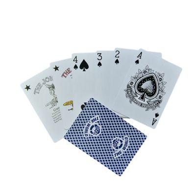 广州扑克印刷厂生产塑料扑克牌广告扑克牌(优质供应商)