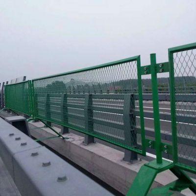 高速公路防眩网 菱形孔钢板网栅栏水库防护栏