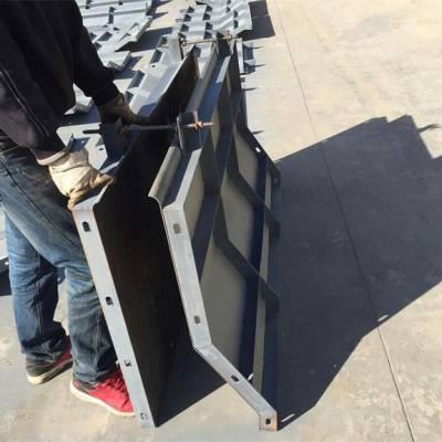 水泥桥梁防撞墙钢模具订制-大庆桥梁防撞墙钢模具订制-超宇模具