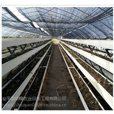 盐城厂家大棚栽培槽/草莓立体种植架批发