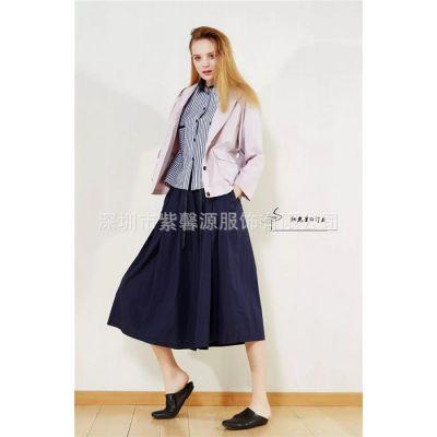 广州一手货源尾货品牌女装供应