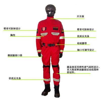 供应船用救援队员礼仪服厂家