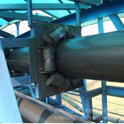 管式带状输送机输送各种松散物料 高效