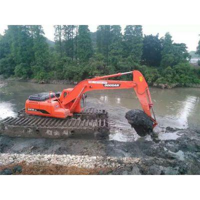 水陆两用挖掘机出租租赁多少钱-民强水陆两用挖掘机