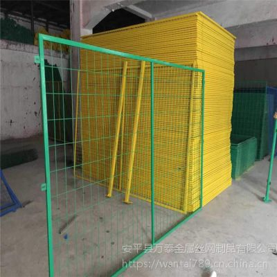 1.5米绿色隔离网 车间防护网 万泰护网价格