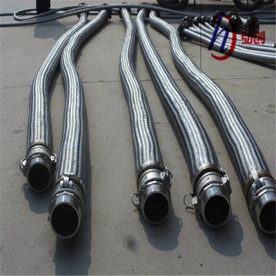 加工定制陕汽德龙不锈钢软管|转炉吹氧金属软管|弘创波纹管批发