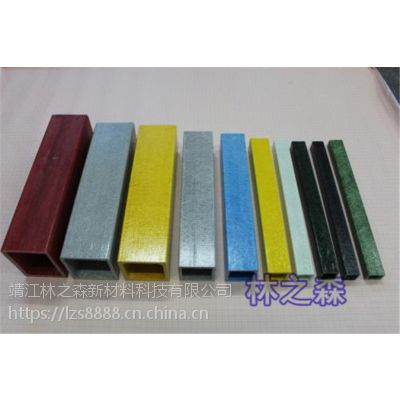 林森玻璃钢仿木纹护栏批发价 玻璃钢方管/拉挤工艺