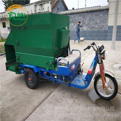 全新方便操作撒料车 饲喂效果好的喂料车 养殖设备抛料车
