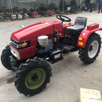 304拖拉机旋耕机 爬坡四驱低矮果园管理机 四轮农用车拖拉机厂家