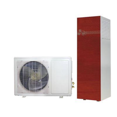 厂家直销家用空气能热泵热水器 氟循环不锈钢承压式热泵热水器