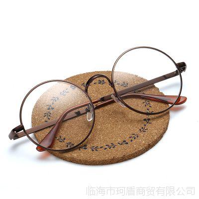 韩版复古金属圆形眼镜框702 潮流时尚框架眼镜学院配近视平光镜