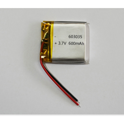 厂家直销蓝牙音箱、蓝牙耳机、电子秤、LED灯电池3.7V 600mAh