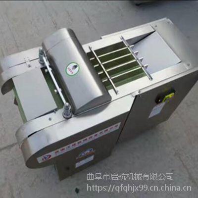 豆腐皮切丝机 辣椒切段机厂家 启航鲜香菇切片机
