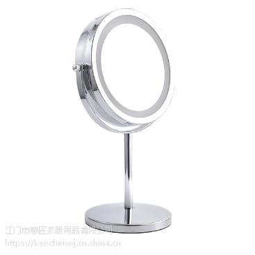 360度旋转LED台式化妆镜