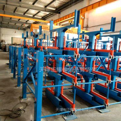徐州钢管货架 伸缩悬臂货架报价表 管材存放方式