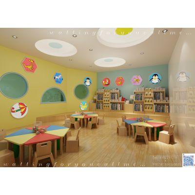 成都专业幼儿园装修风格分享 创意设计 幼儿园装修设计案例