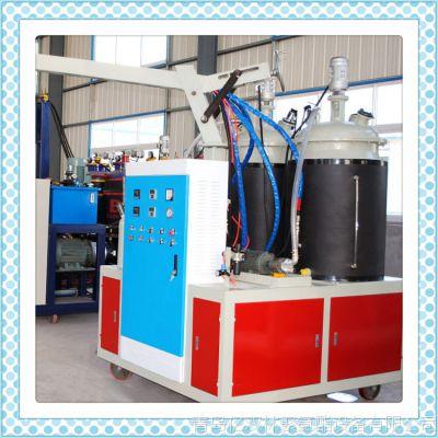 供应 理想聚氨酯发泡机PU建筑装饰地角线PU聚氨酯低压硬泡发泡机