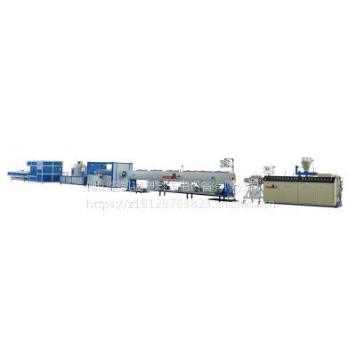 热销盛凯瑞PVC管非标管材生产线SKR65管材高速挤出机