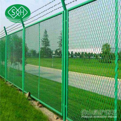 惠州铁路护栏报价 广州建筑公路围栏网采购 护栏网表面处理