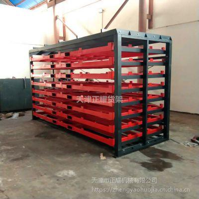 江苏托盘式板材货架 重型货架结构 整捆板材存放架