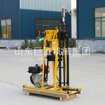 想勘探效率高就用巨匠YQZ-50A型轻便地质钻探钻机小型液压取芯钻机