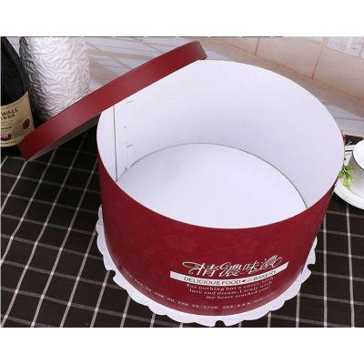 圆型蛋糕盒厂家 透明蛋糕盒定制 蛋糕盒批发定制厂商
