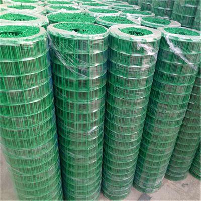 圈地养殖荷兰网 浸塑铁丝网价格 绿色果园围网